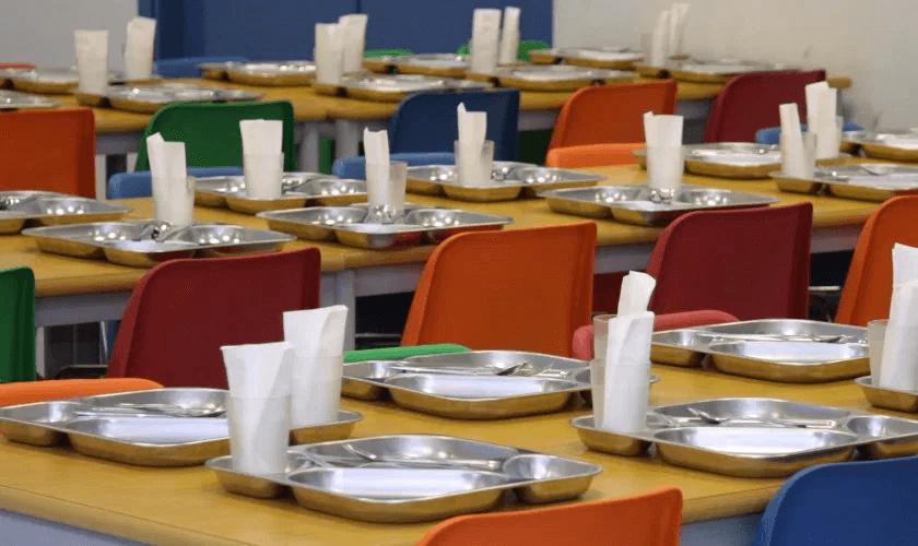 Enasui - Menú sin gluten en el comedor del colegio