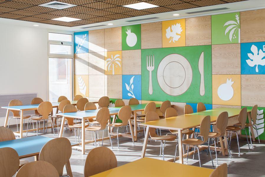 Comedores escolares con encanto - Enasui