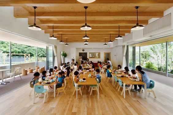comedor escuela tokio