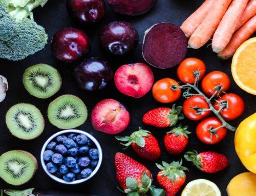 Comer colorido, comer sano