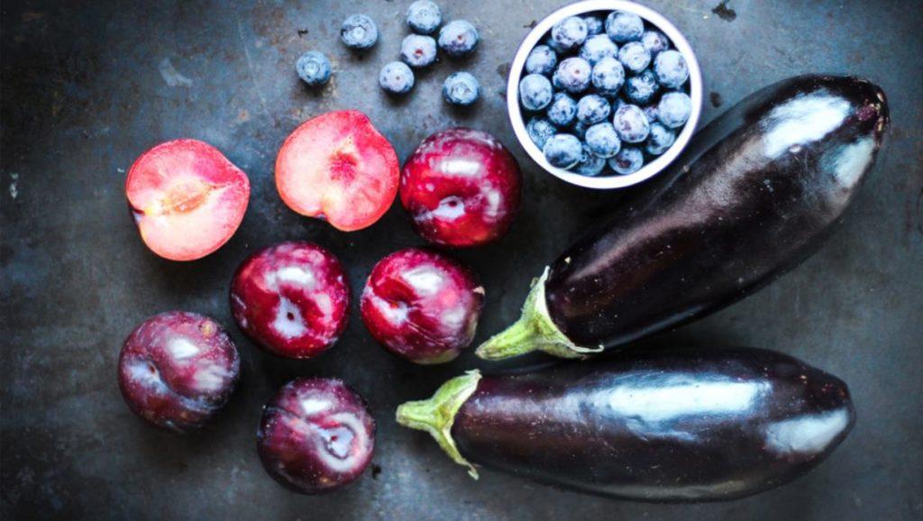 comer colorido-sano-morado