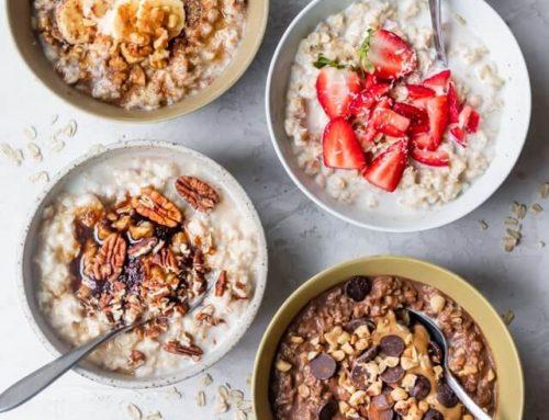 Receta neurosaludable del mes: Oatmeal (gachas de avena)